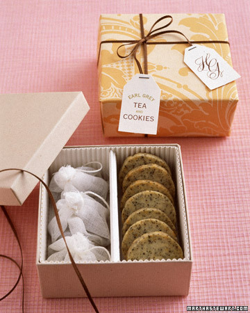 Earl Grey Tea Cookie Favors