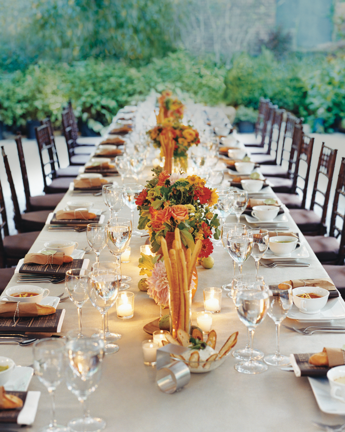 Intimate Reception Tables