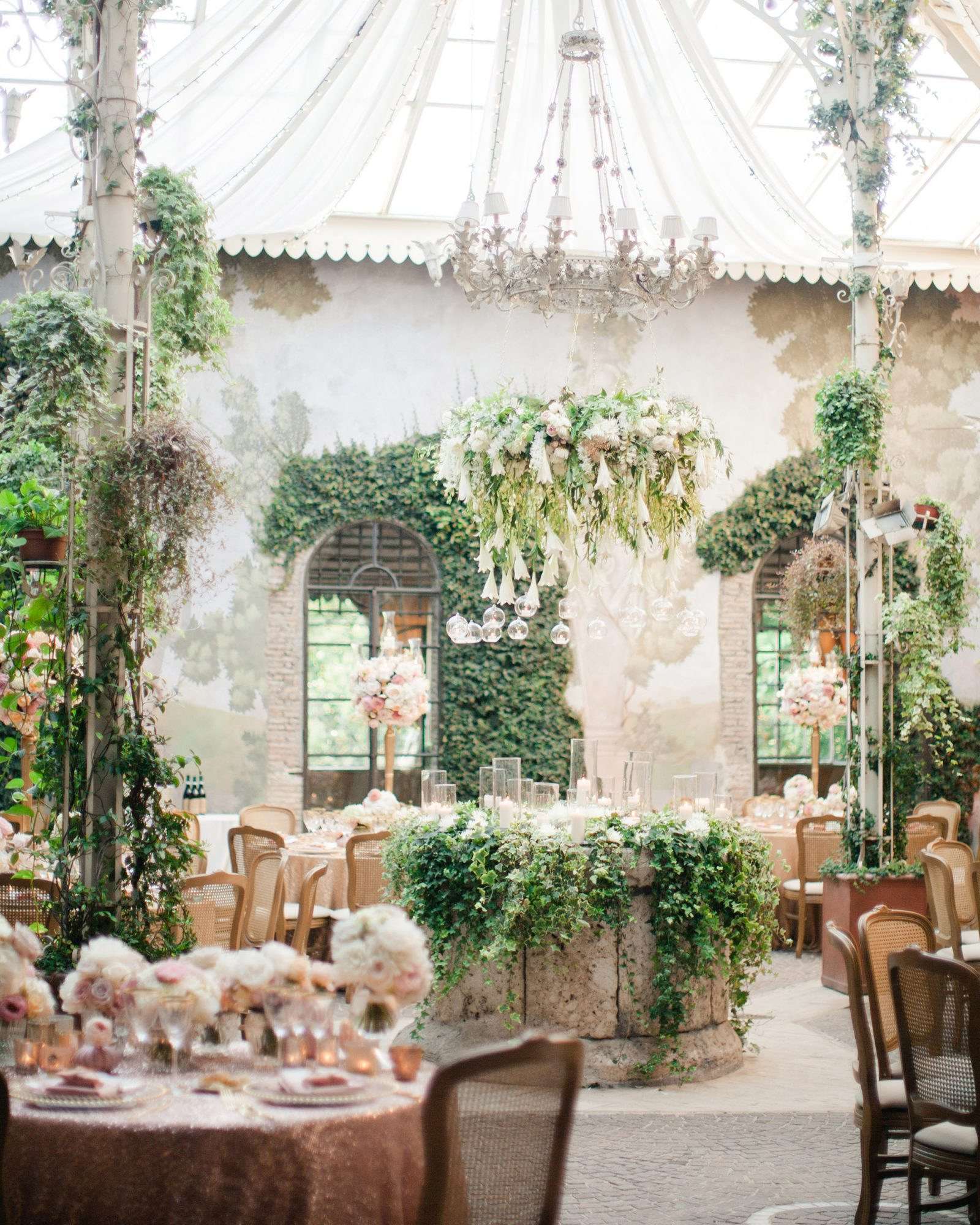 glamorous wedding ideas air venue