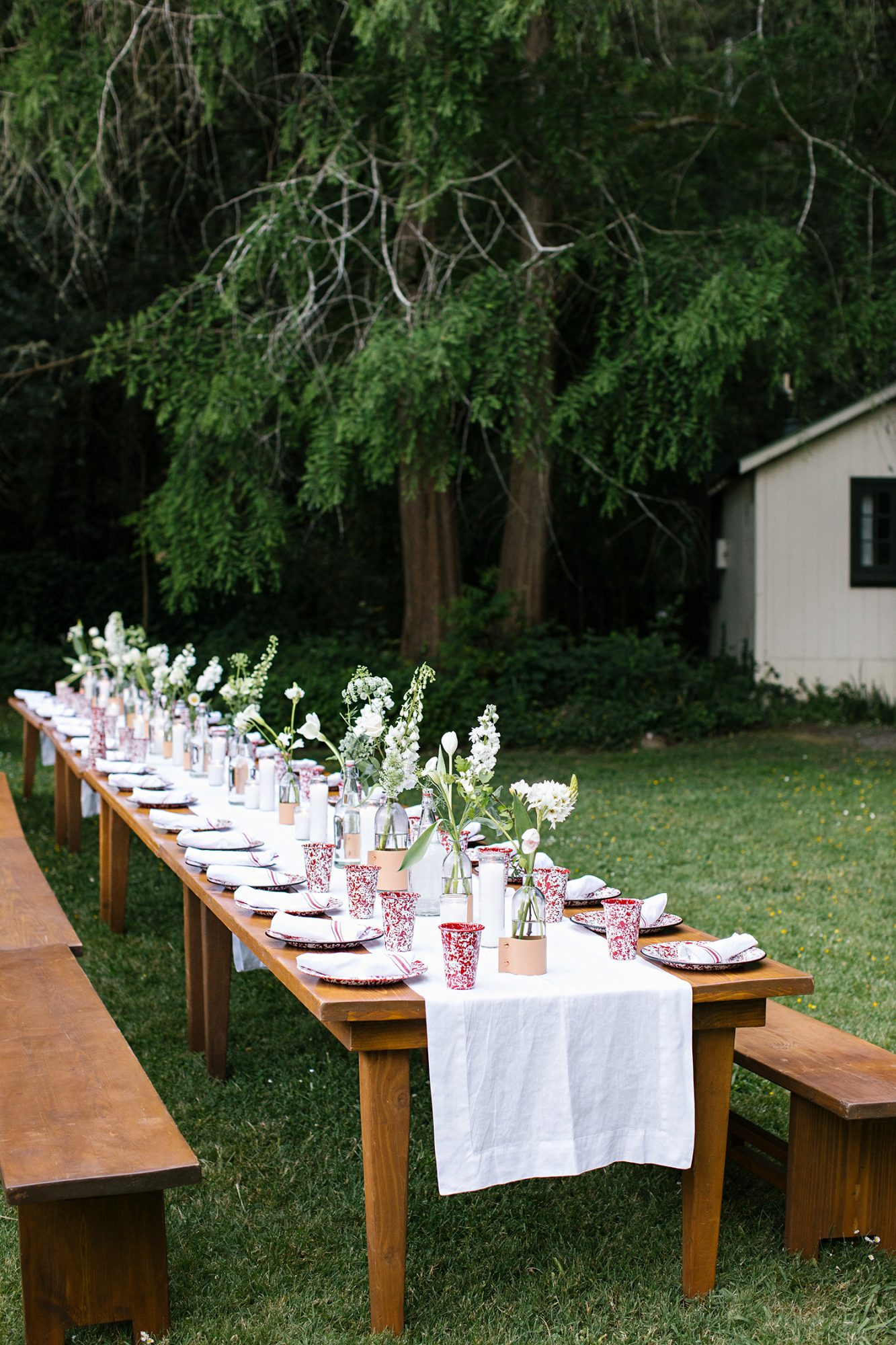 kendall jackson rehearsal dinner banquet table
