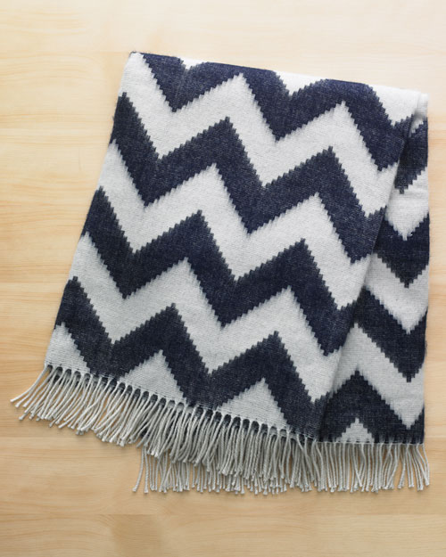 At Night: Throw Blanket