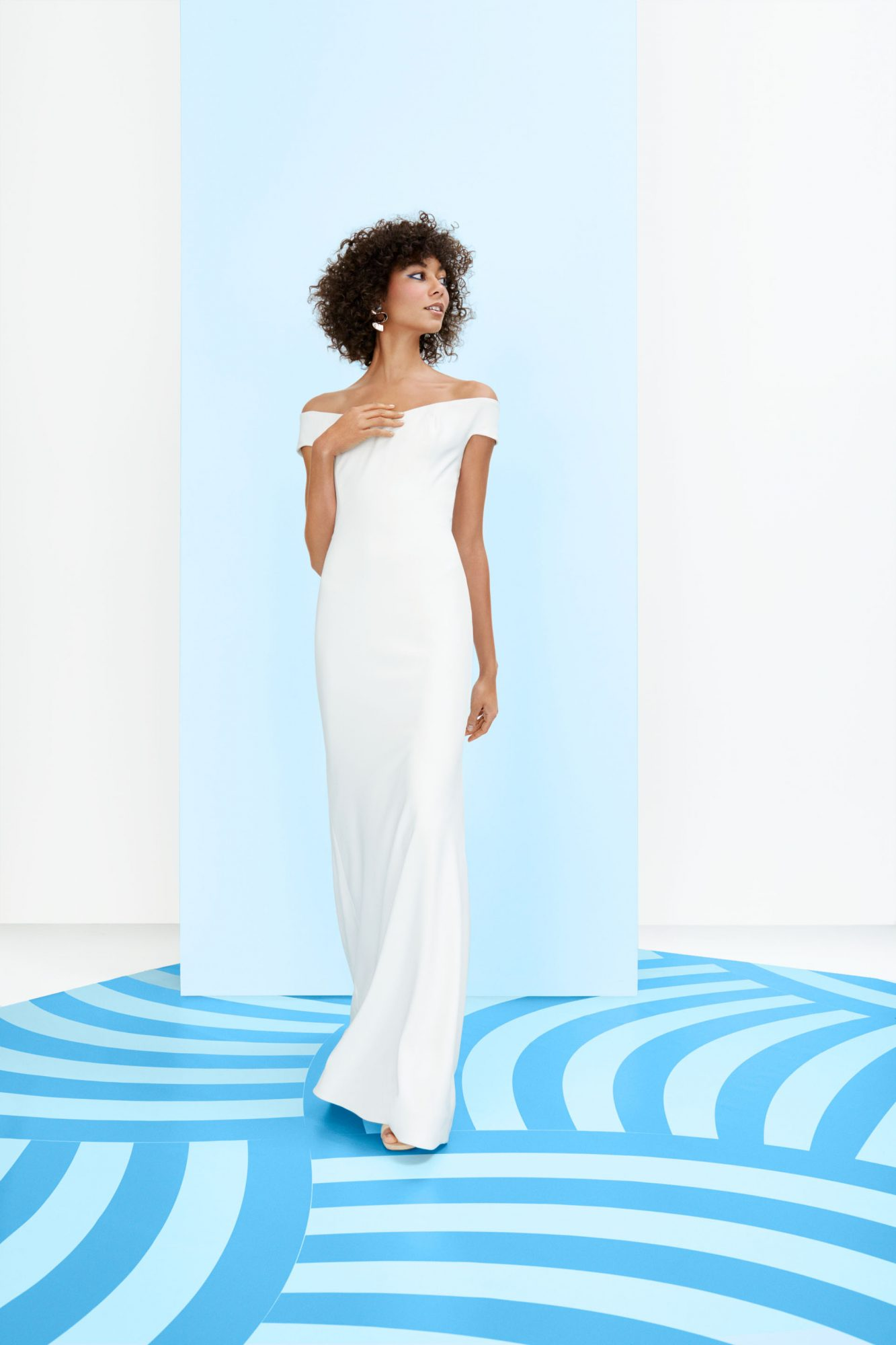 liancarlo off shoulder gown