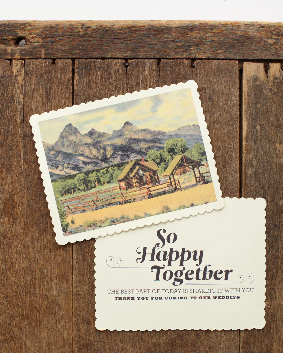 Postcard Favors