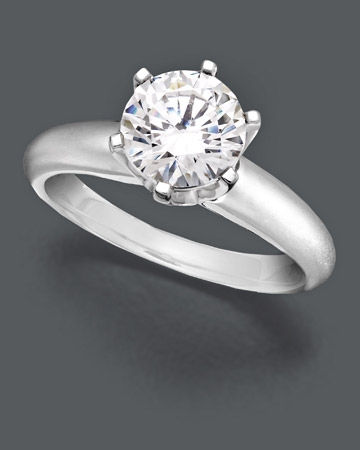 1-1/2 ct.t.w Solitaire Ring