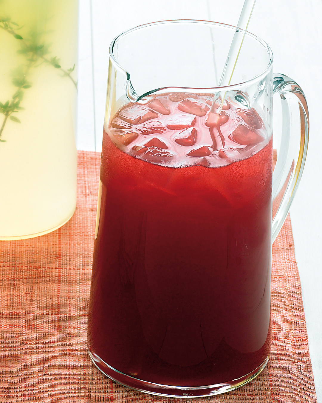 Hibiscus-Honey Iced Tea