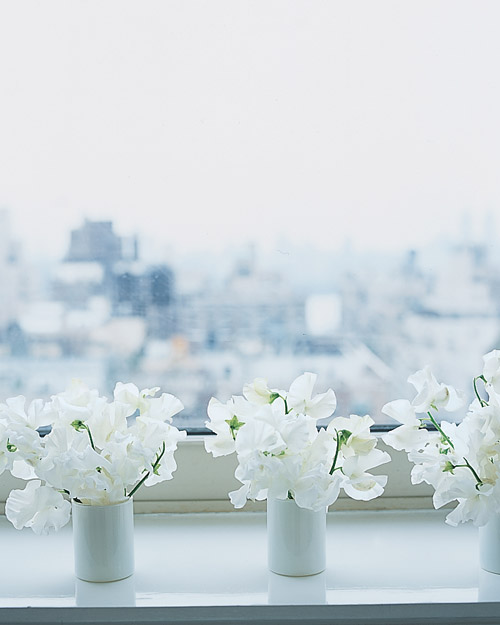 White Flower Favors