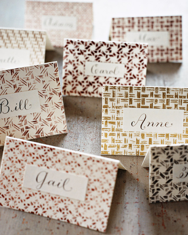 Basket Place Cards