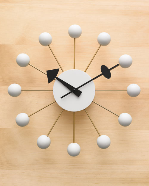 In the Morning: Nelson Ball Clock