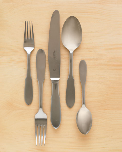 In the Morning: Flatware