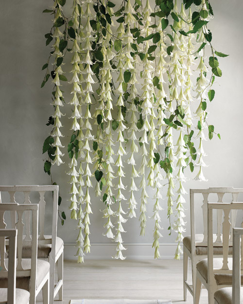 Wedding Garland with Easter Lilies