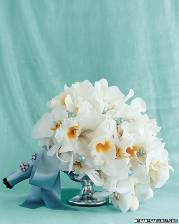 A Wedding Bouquet Created by Martha