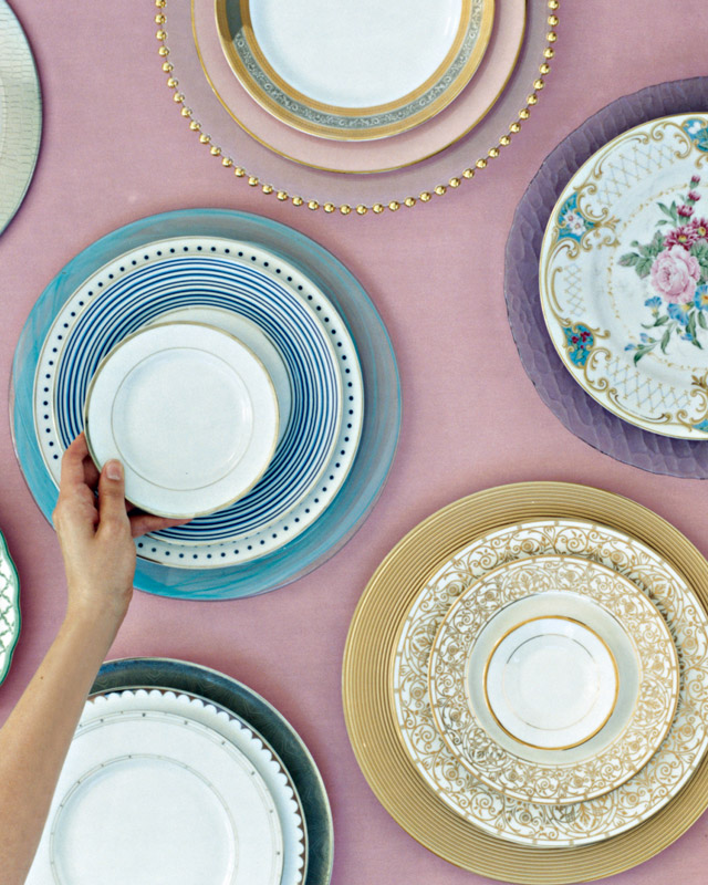 Mix and Match Plates