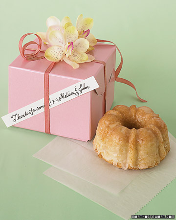 Mini Coconut Macadamia Bundt Cakes from Hawaii