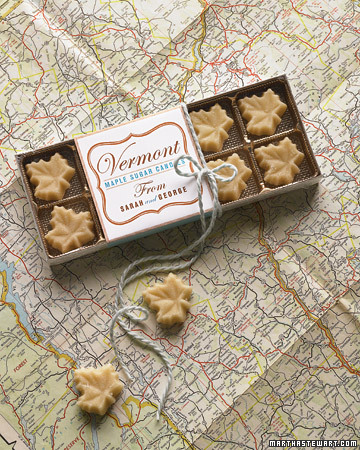 Maple Sugar Candies from Vermont