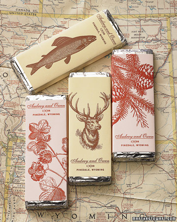 Chocolate Bars from Wyoming