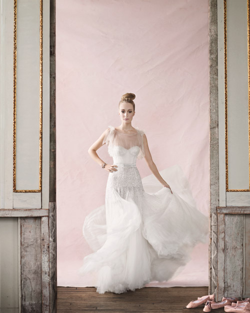 A Shapely Wedding Dress