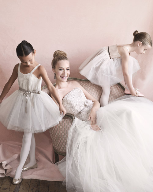 Wedding Gown and Flower Girl Dresses