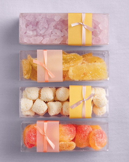A Variety of Candies Wrapped in Boxes