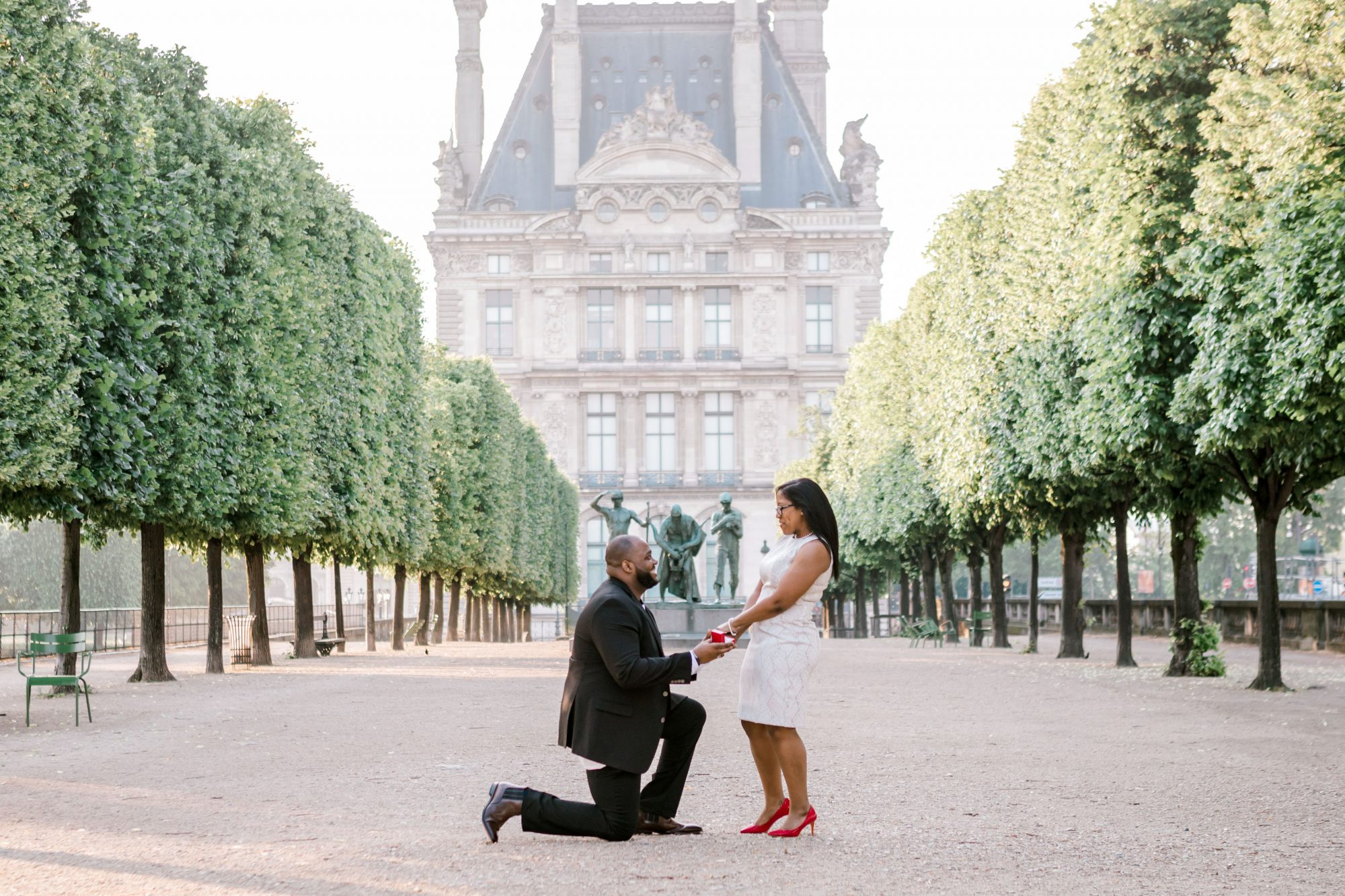 perfect proposals paris garden view of building