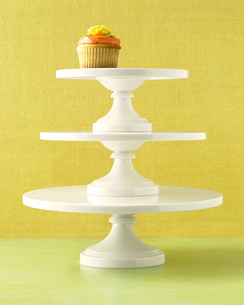 Martha Stewart Collection Whiteware Cake Stands