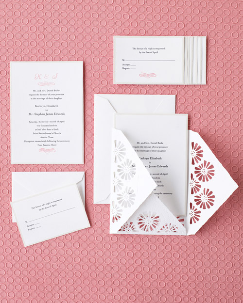 Customizable Cosmos Garden Invitation Suite