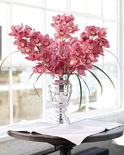 Martha Stewart Enchanting Pink Orchid Bouquet