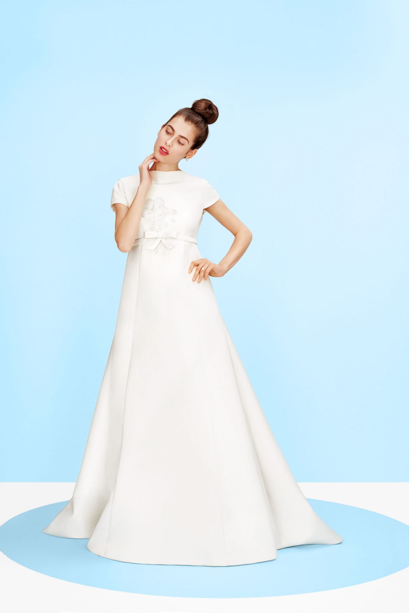 victor rolf mariage iced flower audrey gown