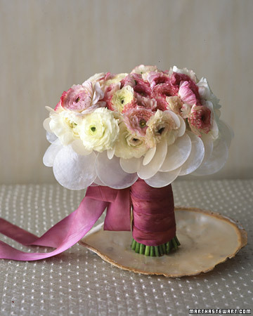 Bouquet with Pearly Shells