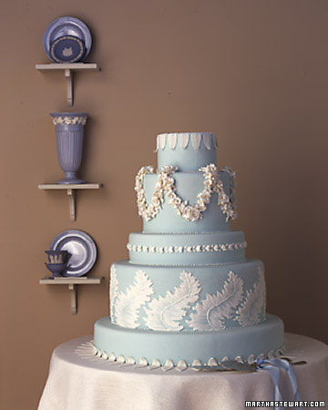 Wedgwood Wedding Cake
