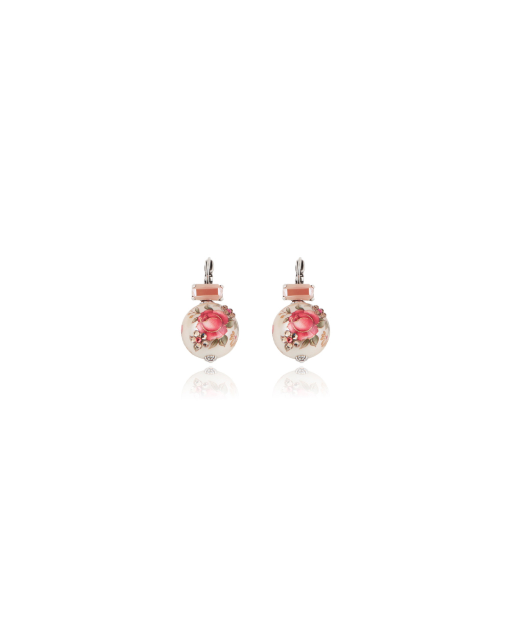 wedding earrings gas bijoux roses