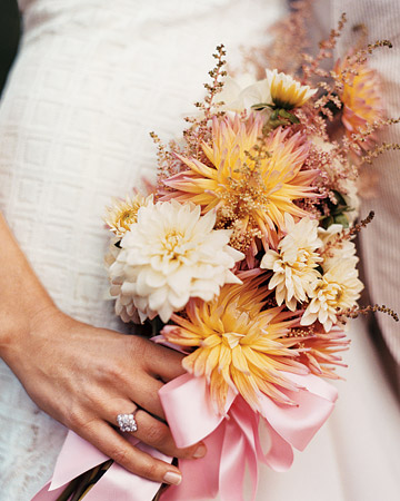 Bouquet with Fresh-Picked Flowers
