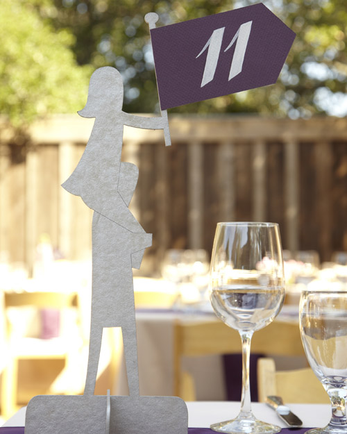 Creative Table Number