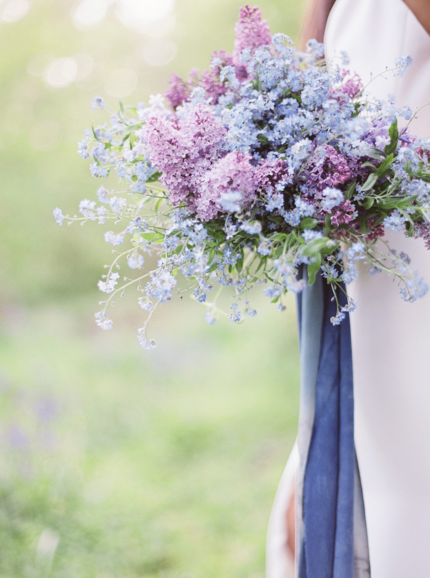 25 Beautiful Purple Wedding Bouquets We Love Martha Stewart