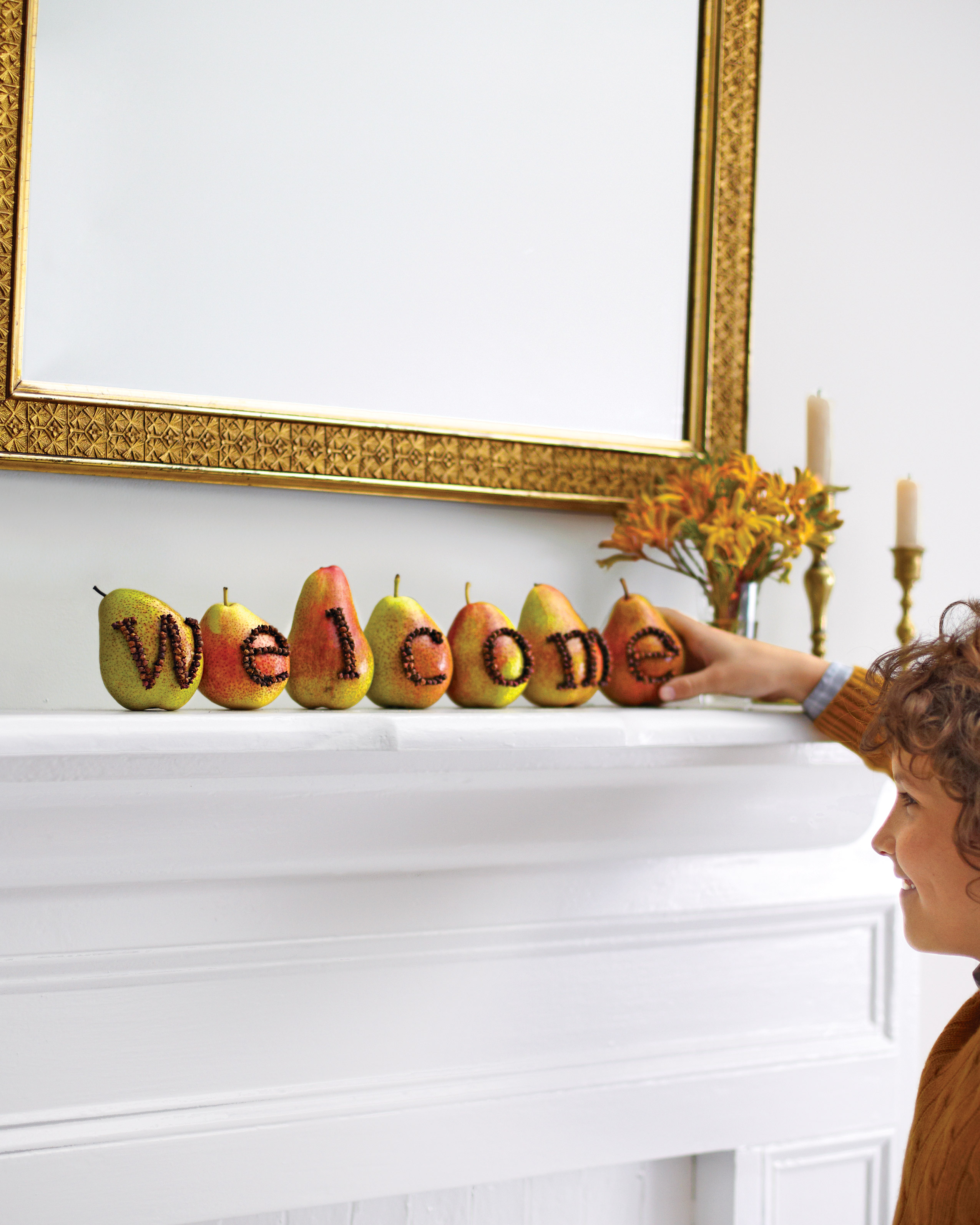Pear  Welcome  Display