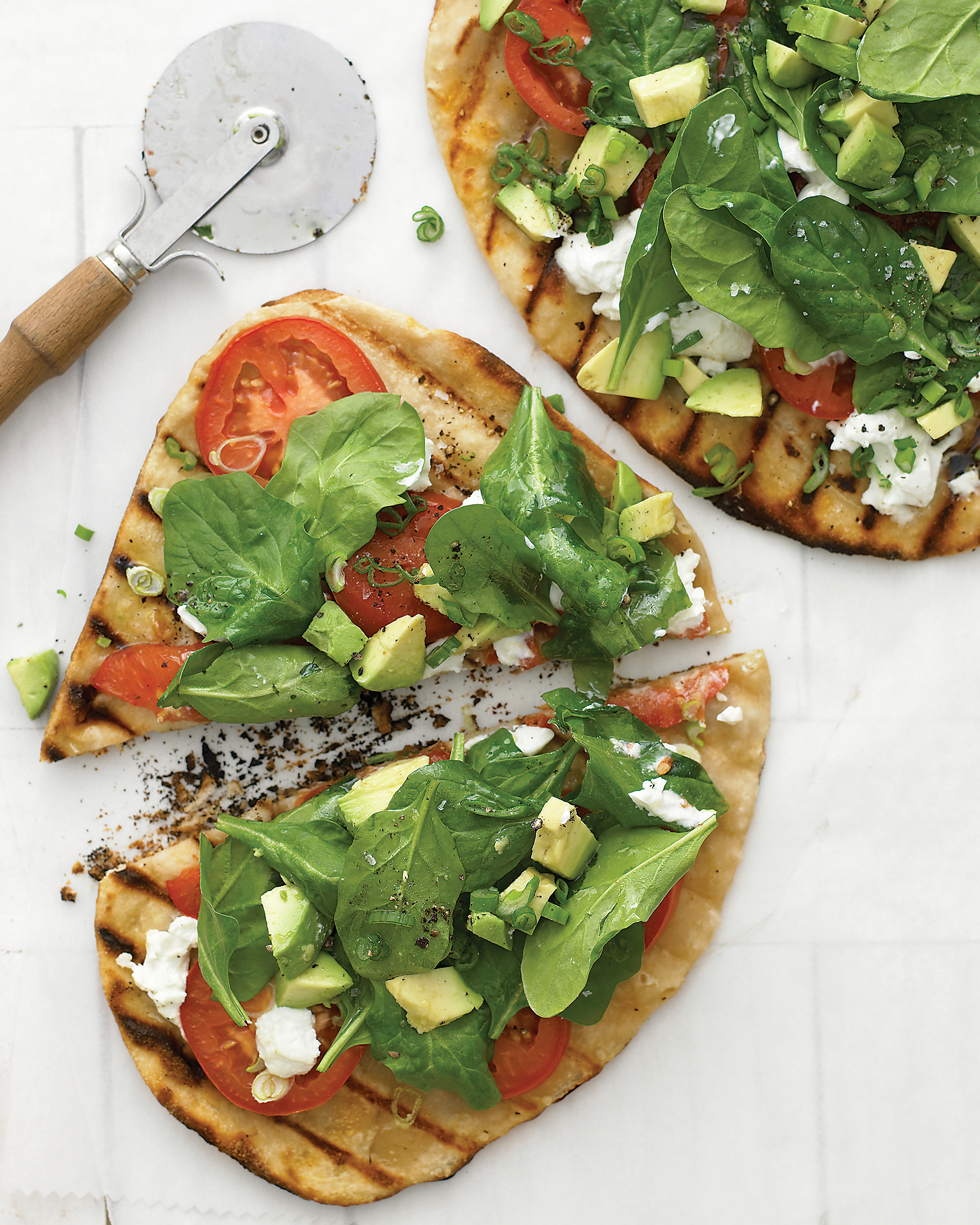 West Coast Grilled Vegetable Pizza