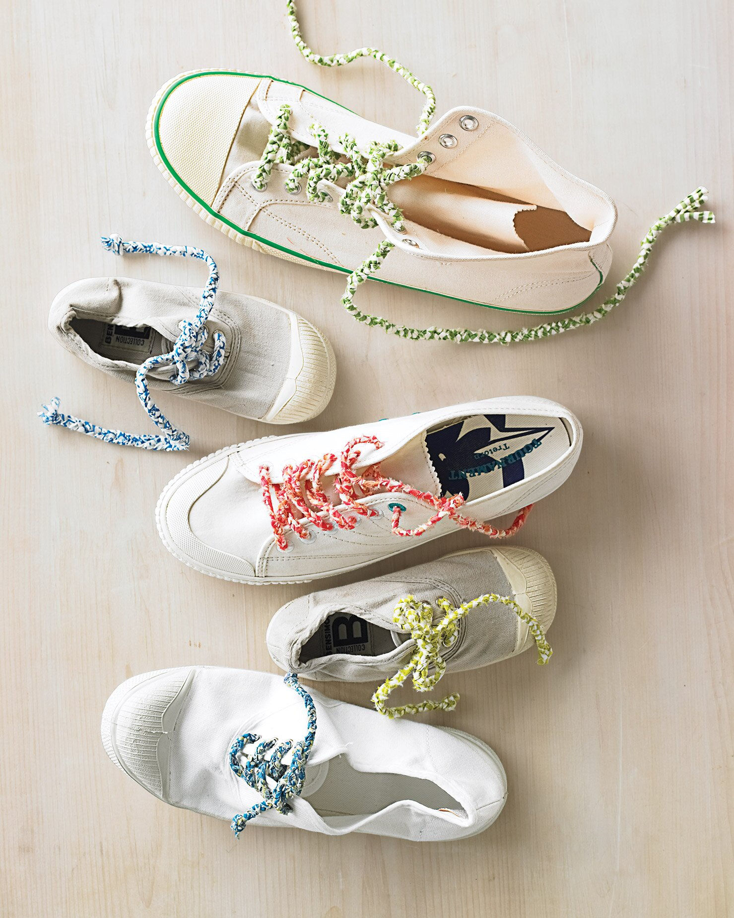 25 Ways To Kick Up Your Style With Diy Shoes Martha Stewart