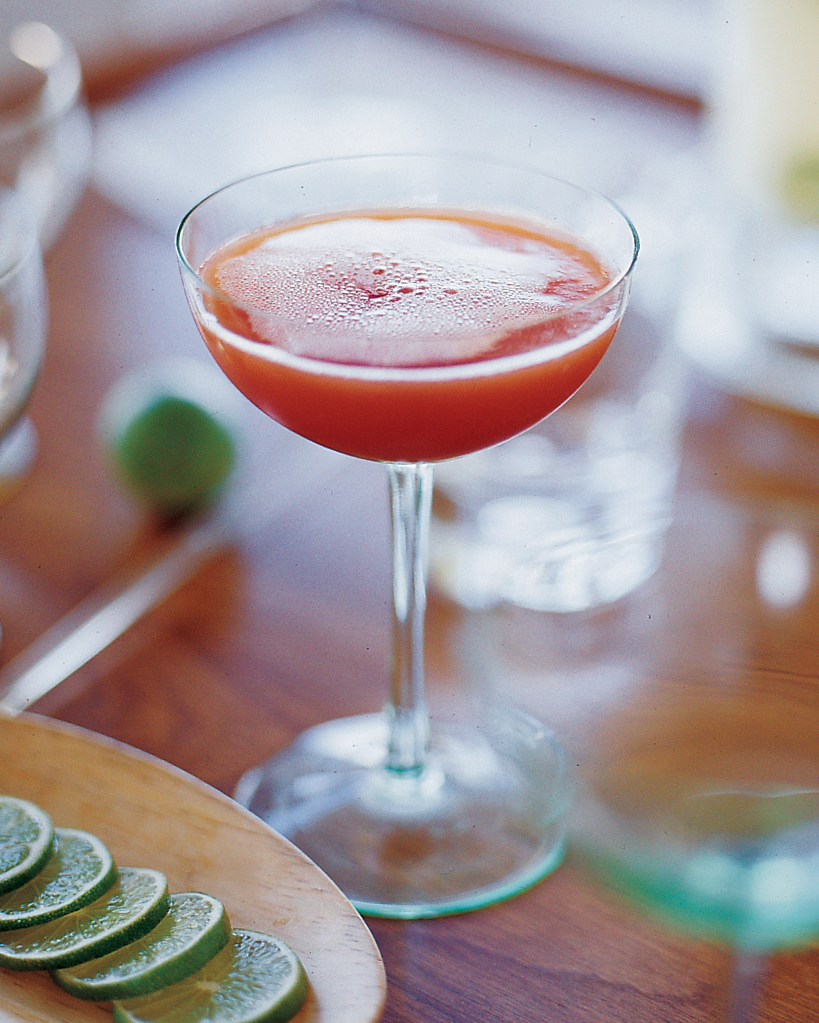 Blood-Orange Champagne Cocktails