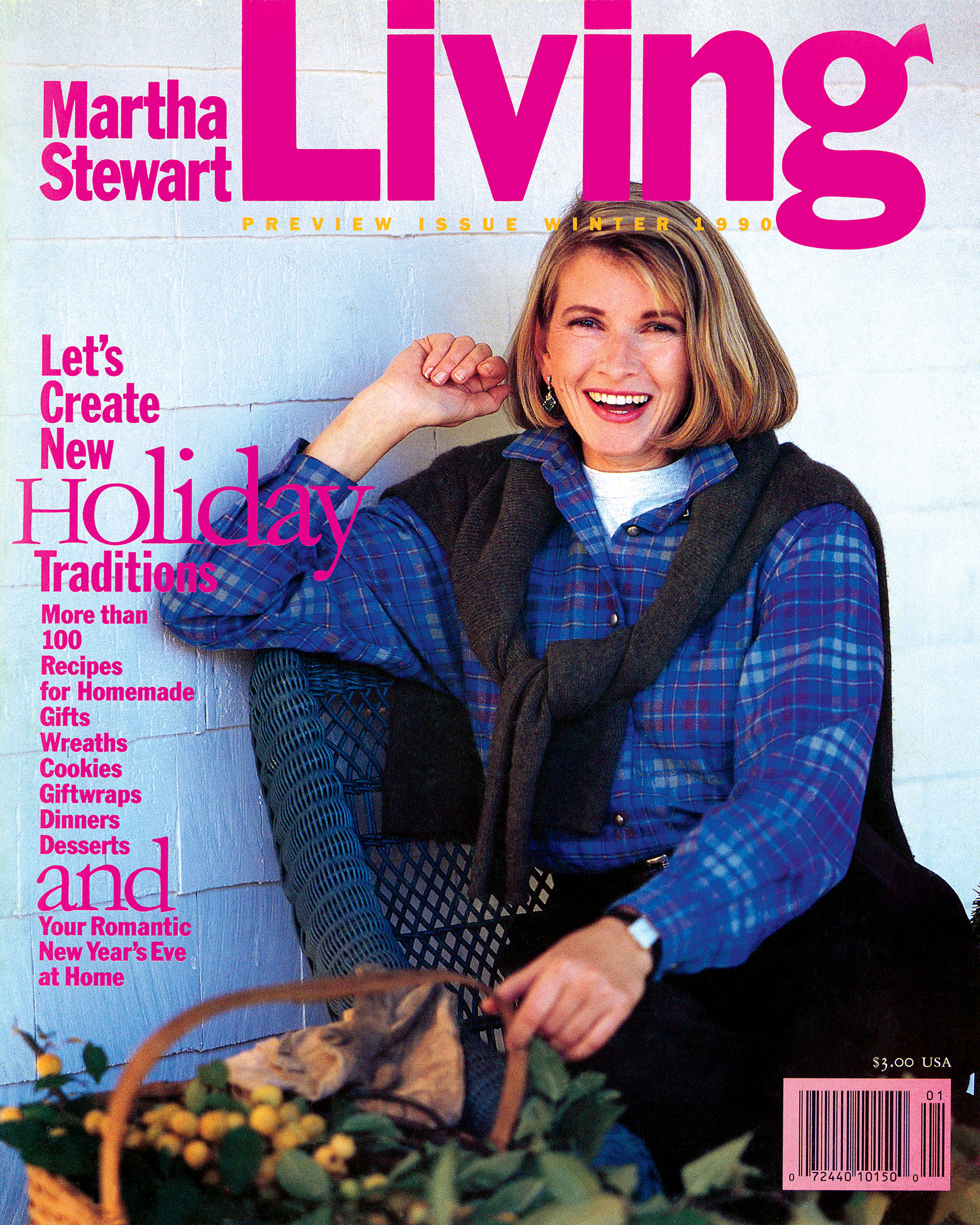 martha stewart living magazine 1990