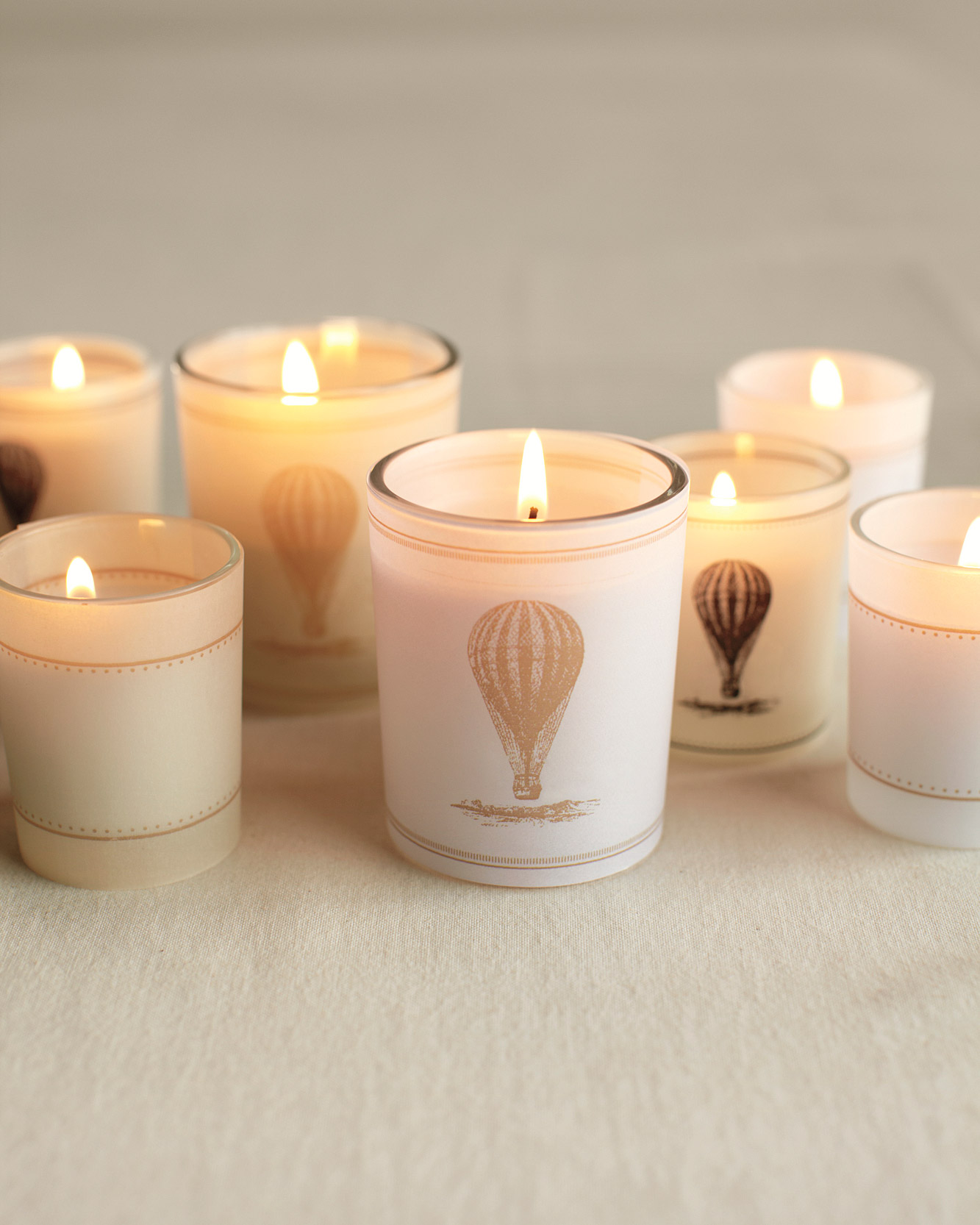 For a Countryside Celebration: Uplifting Candle Wraps