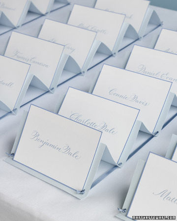Escort Card Organizer