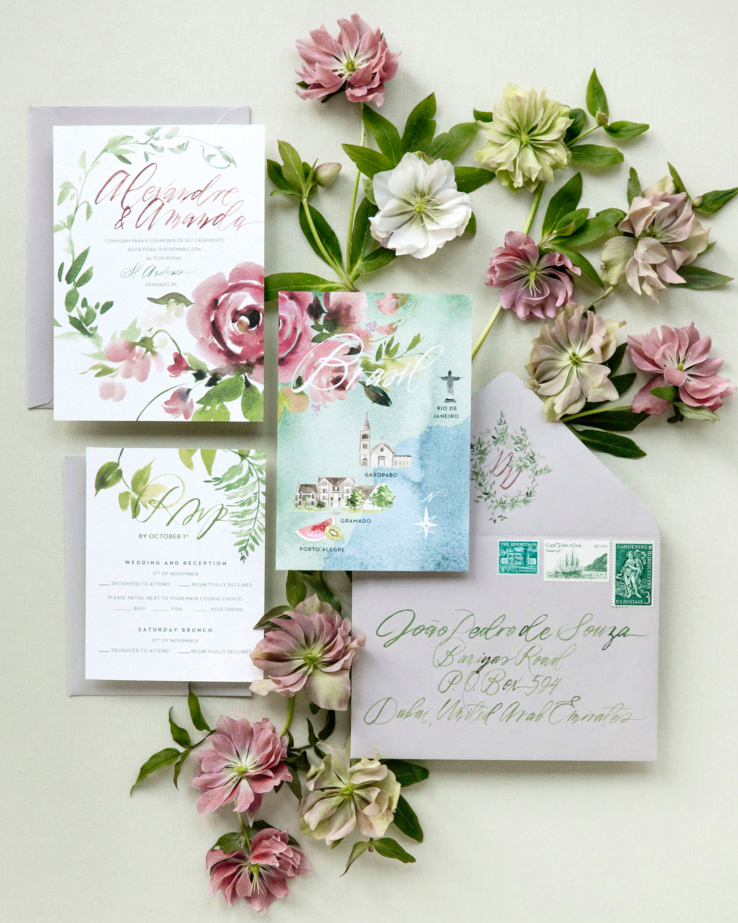 amanda alex wedding stationery invitation