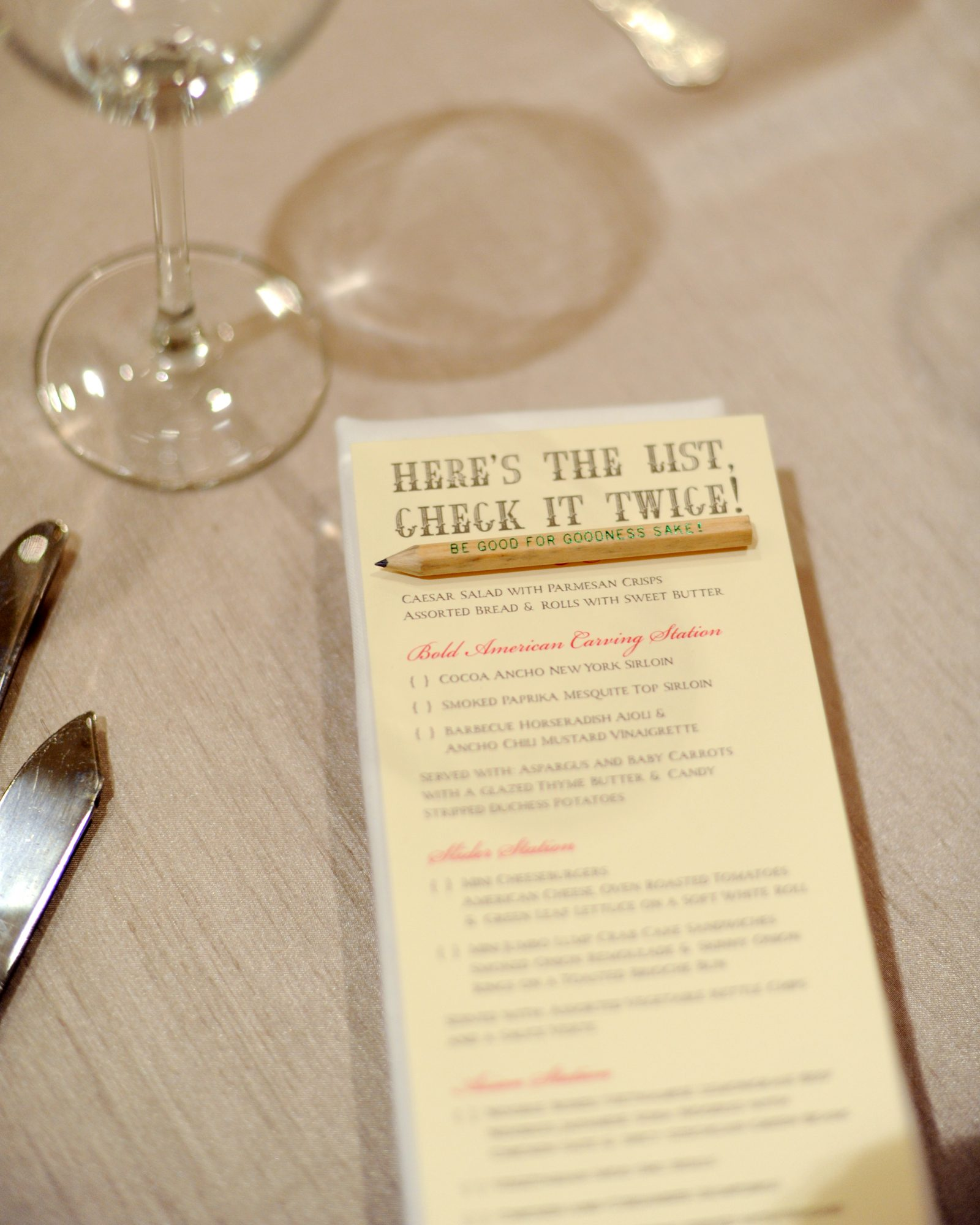 Place-Your-Order Menu Card