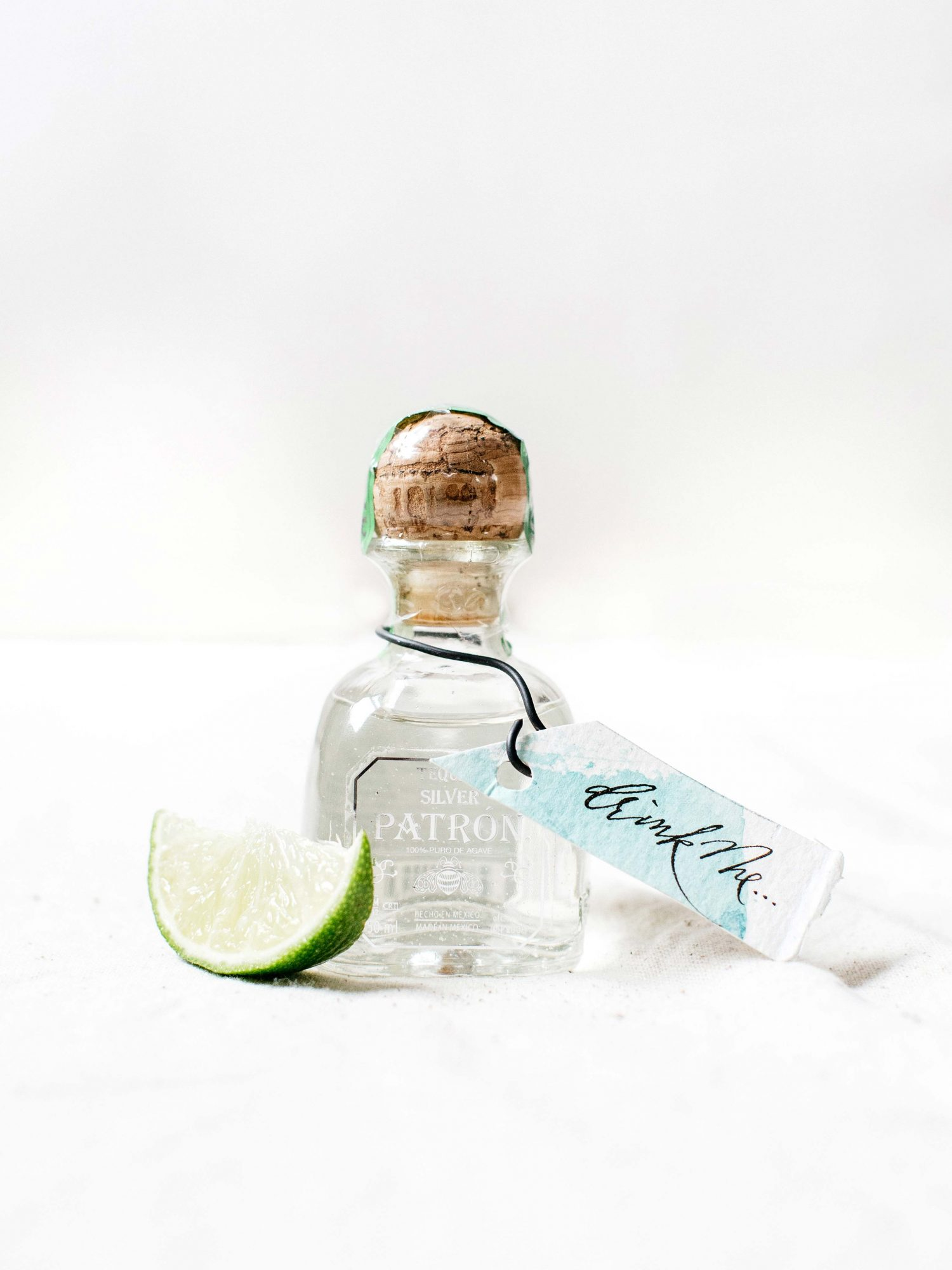 mini patron bottle