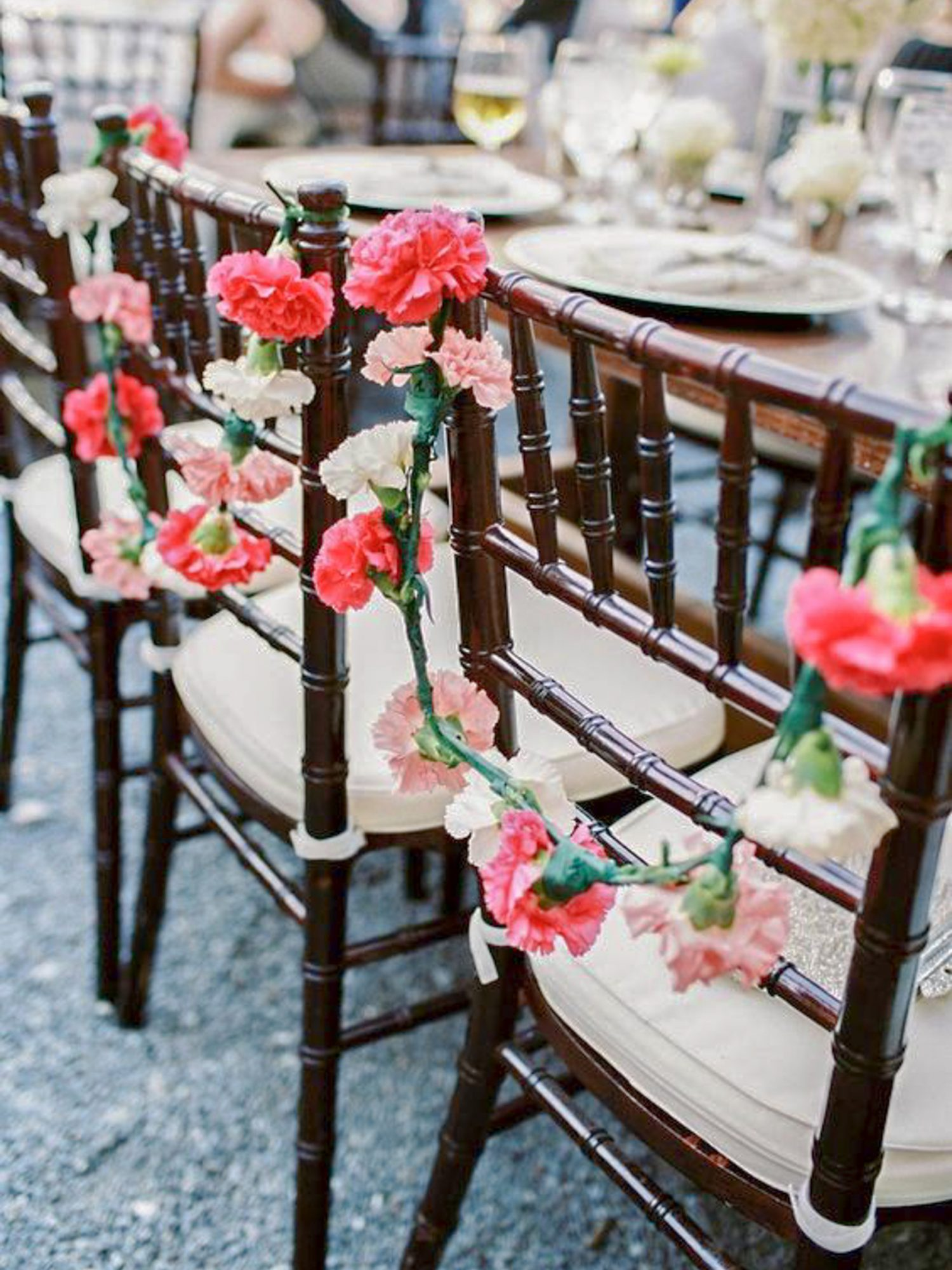 carnation wedding ideas perry vaile