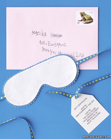 Spa Mask Invitation Templates