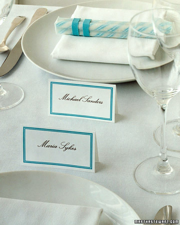 Double-Sided Place Cards