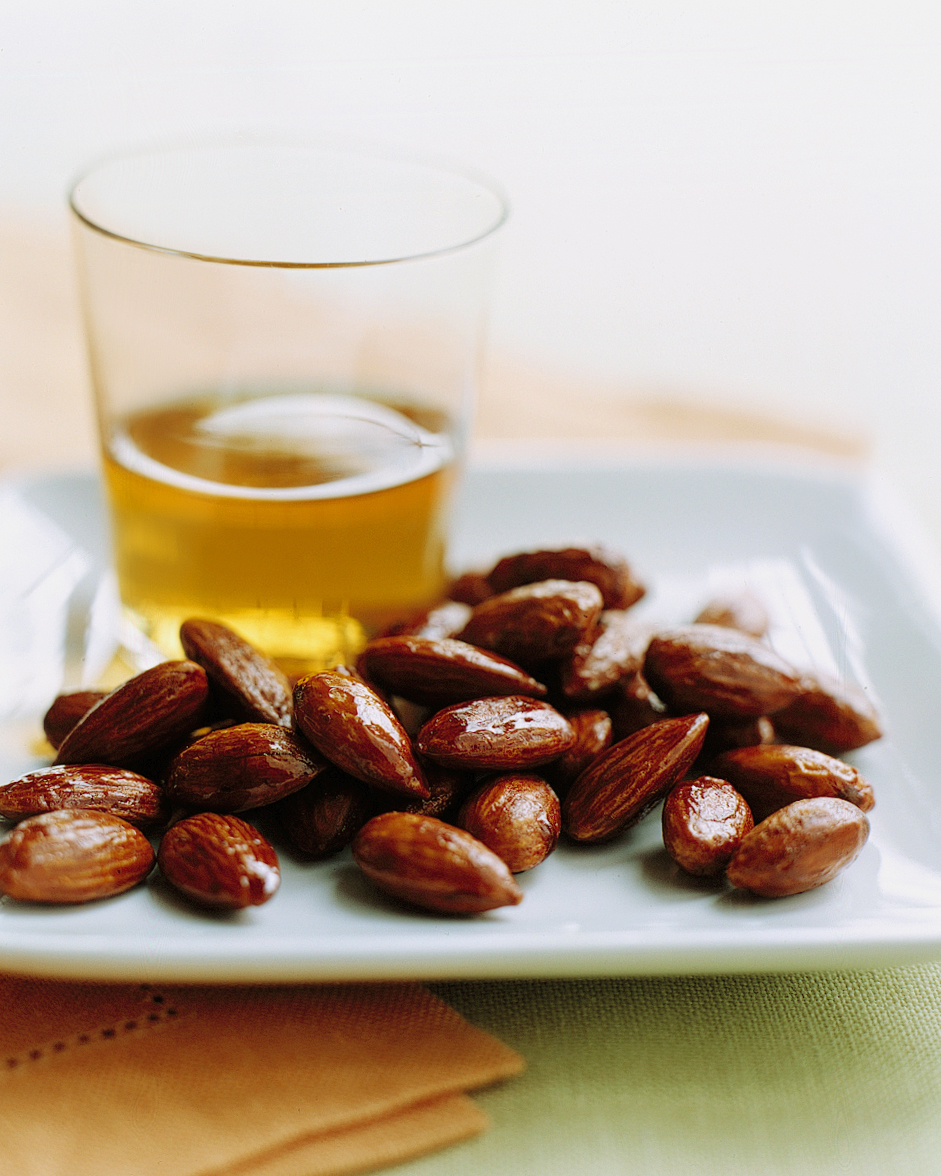 Tamari-and-Maple Roasted Almonds