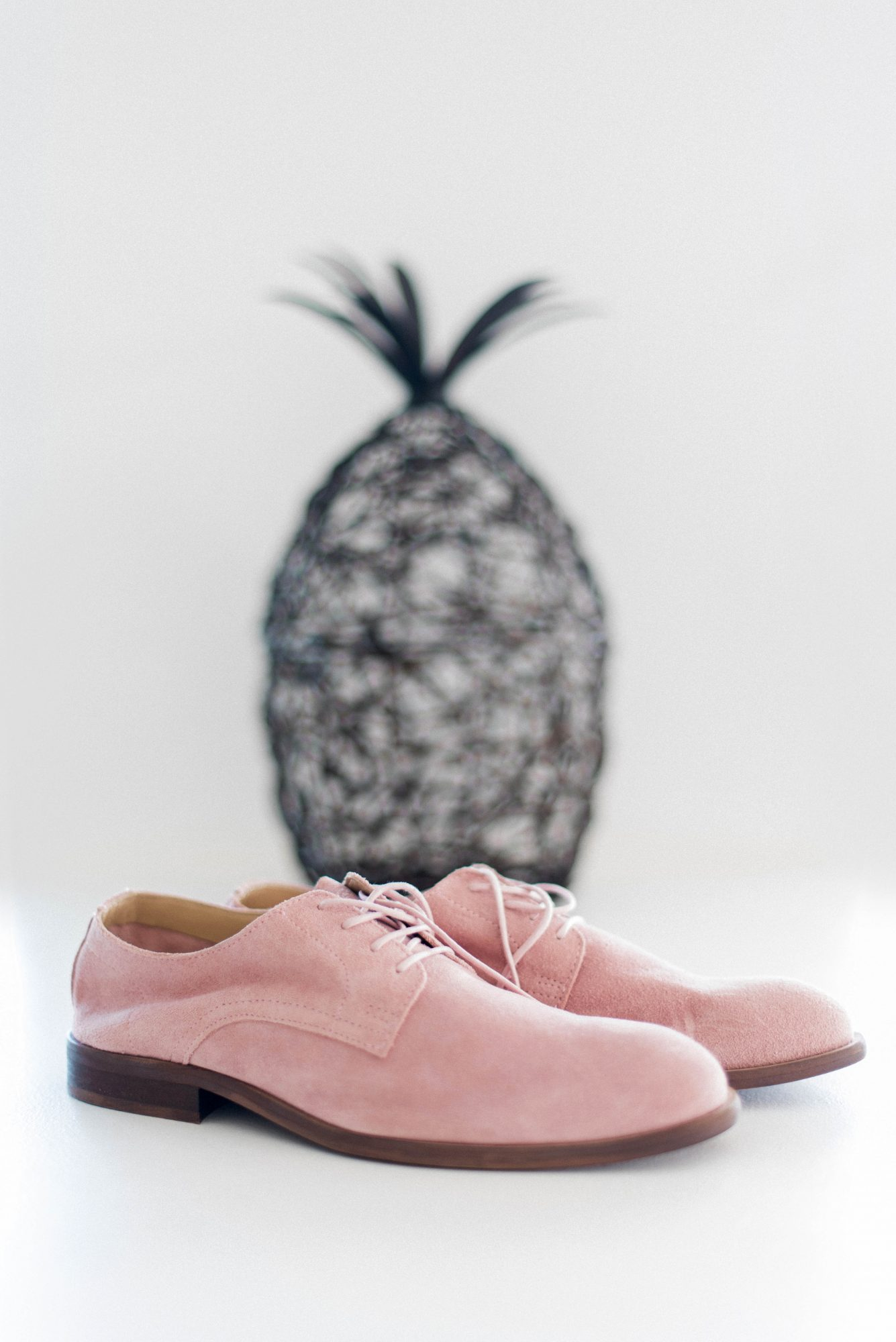 cool groom accessories pink blush shoes