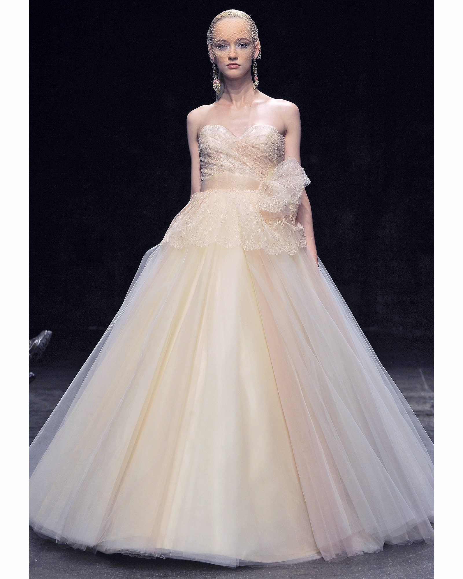 Sherbet Ball Gown