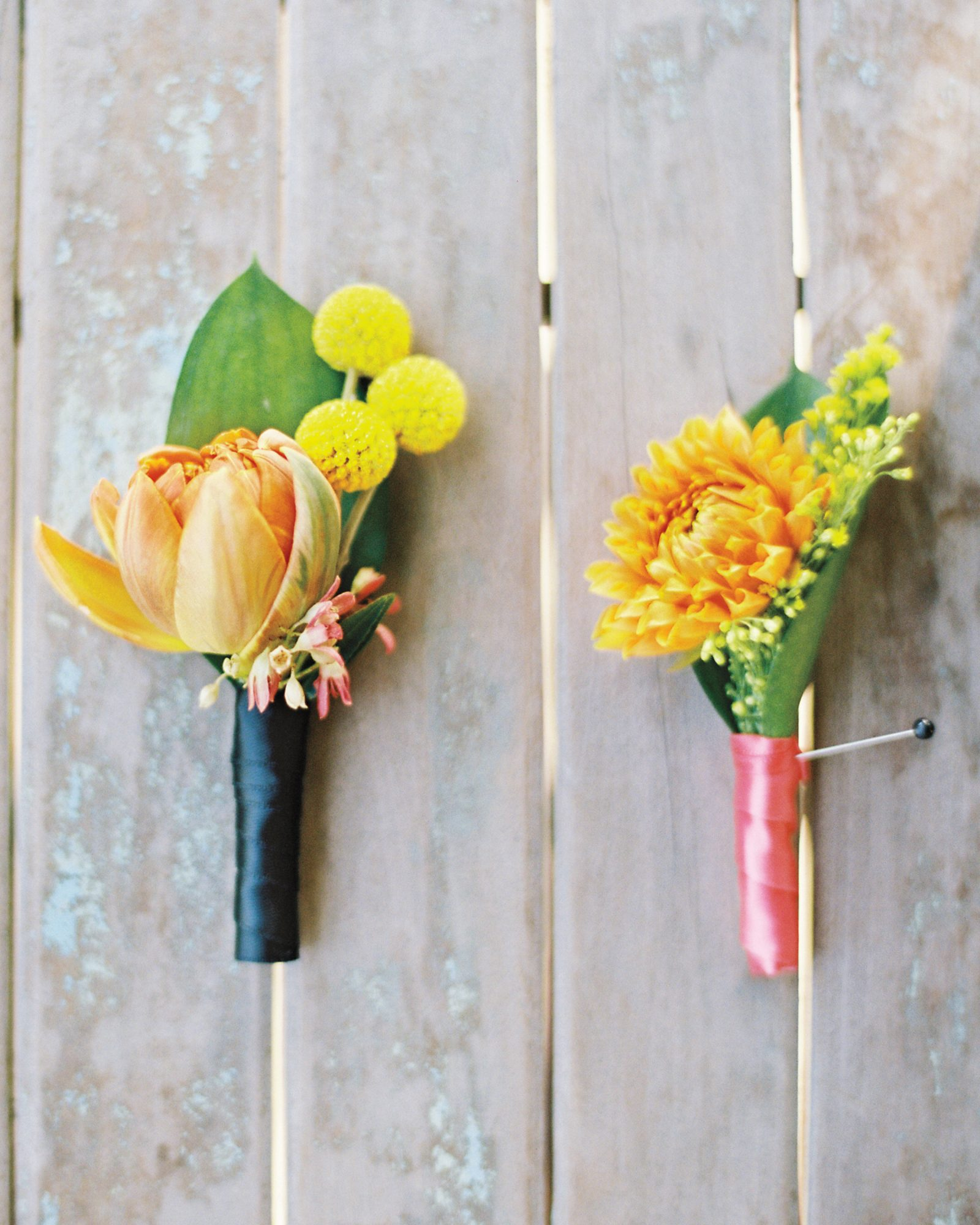 Bright Boutonnieres